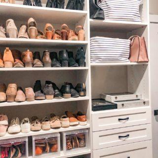 An organized closet has us like 😍. #homeorganization #nky #nkyhomes #greatercincinnati #simplicityreimaginedllc #homeorganizing
